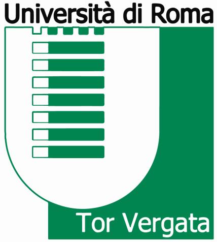 Università di Roma Tor Vergata -Cdl INFERMIERISTICA